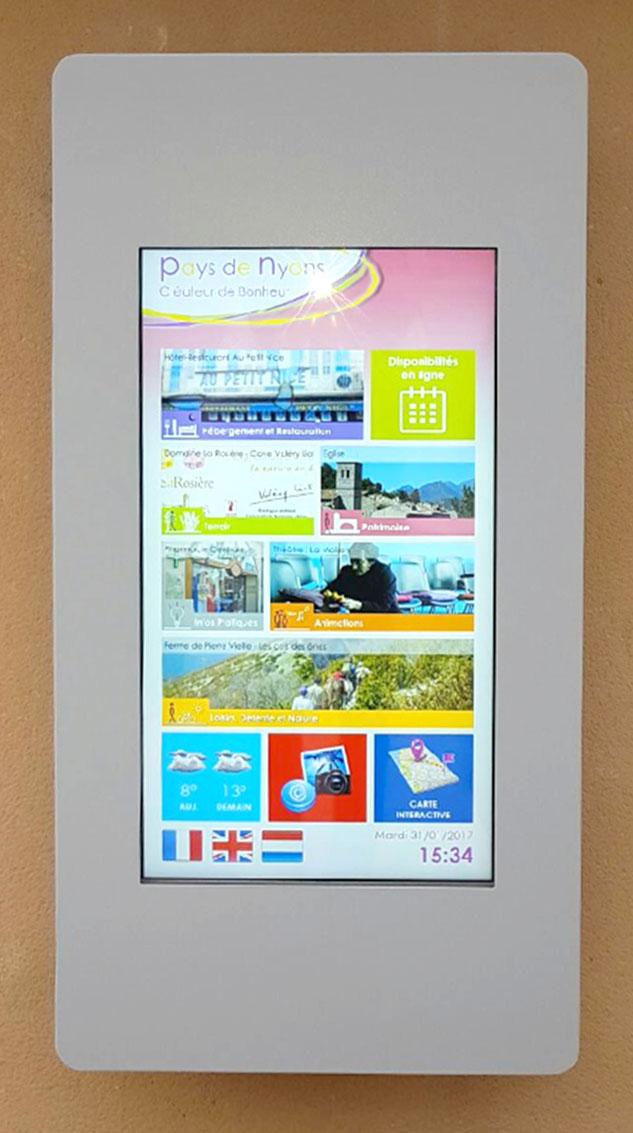Pixel Impact Affichage Dynamique borne collectivités