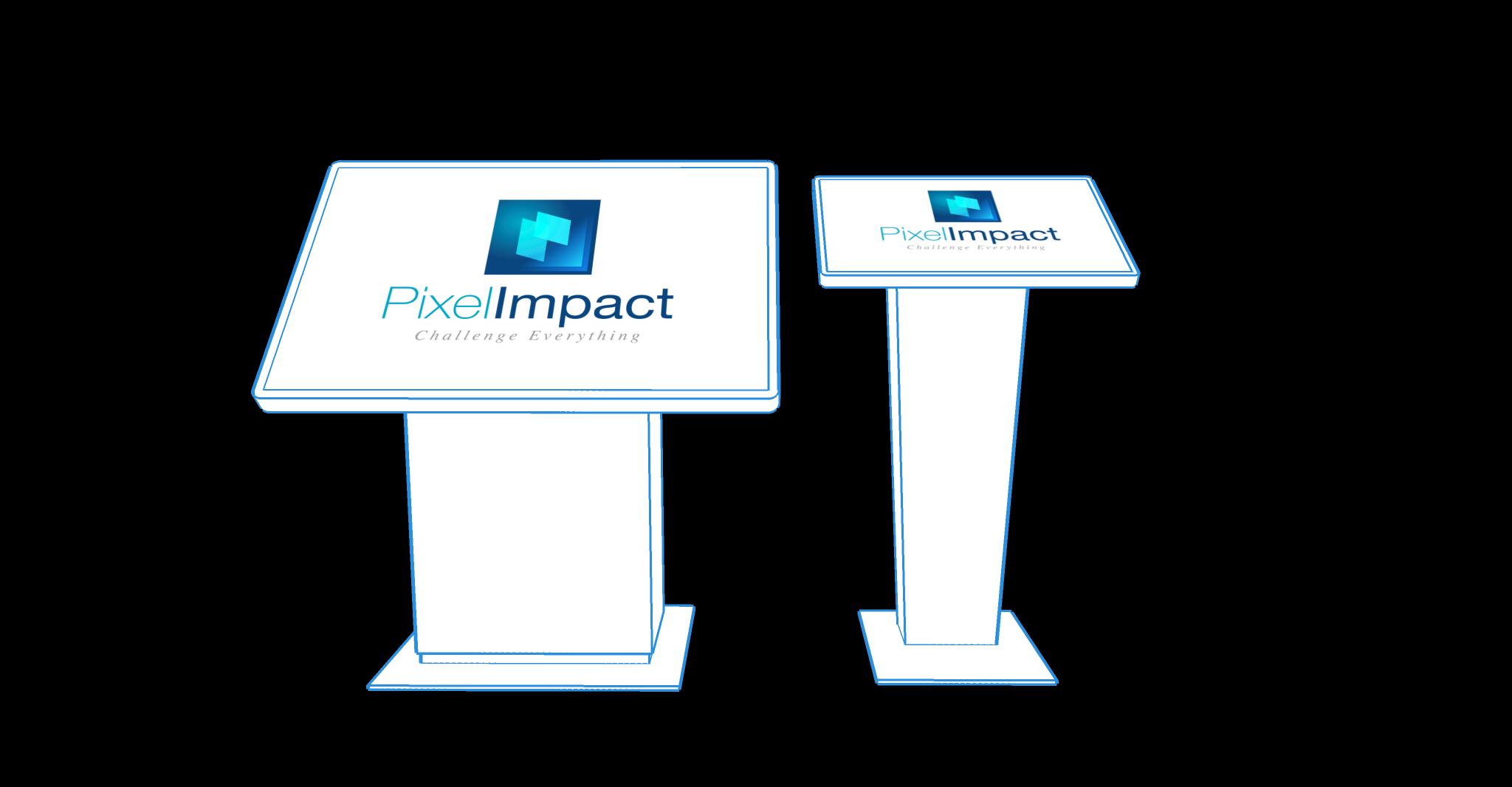 Pixel Impact Affichage dynamique bornes interactives