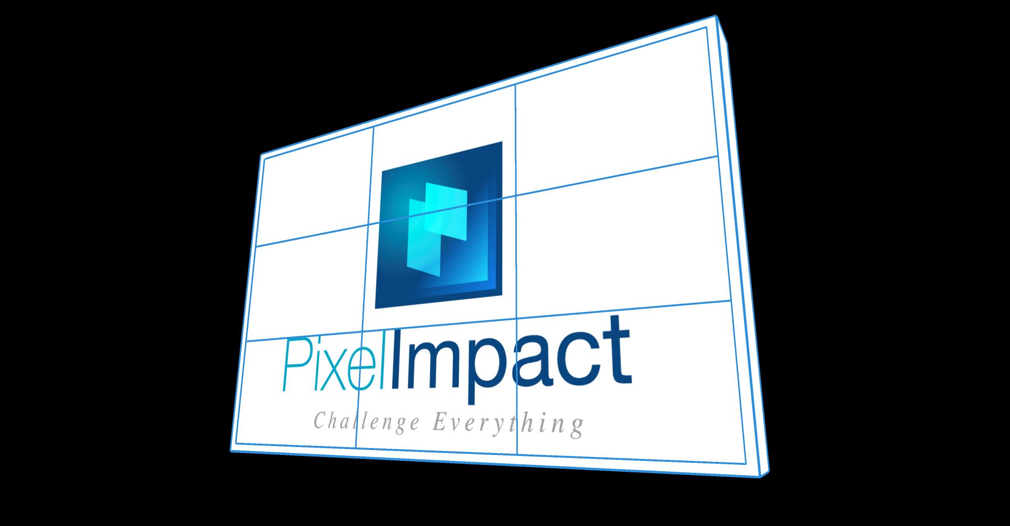 Pixel Impact Affichage dynamique Mur d'image