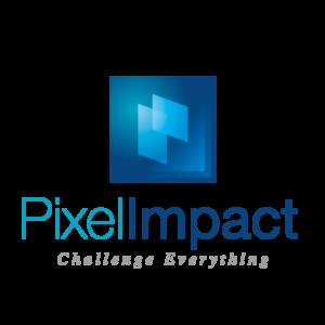 Pixel Impact Affichage dynamique Orange Vaucluse Logo full