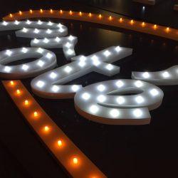 PIXEL IMPACT - Lettres lumineuses diodes apparentes