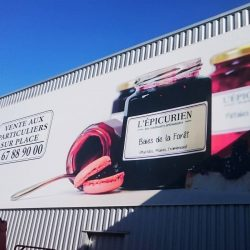 PIXEL IMPACT - Panneaux en toile tendu